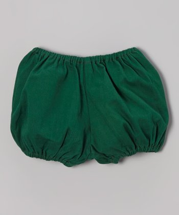 Stone Green Pocket Bloomers - Infant