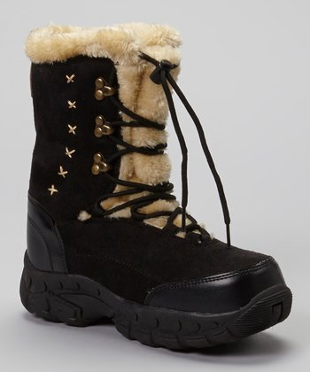 Black Anastasia Boot