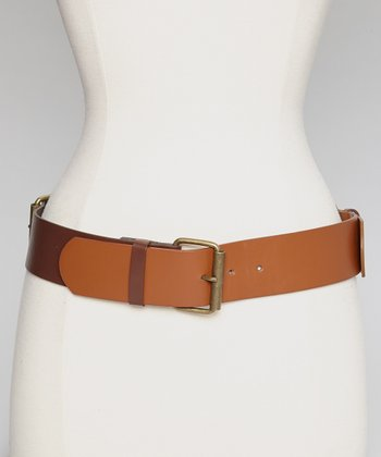 Brown & Dark Brown Belt - Women