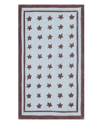 Blue & Brown Starzapalooza Rug