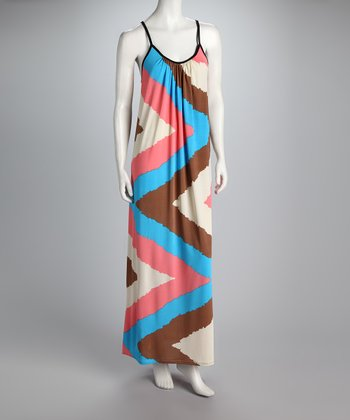 Candy Zigzag Maxi Dress
