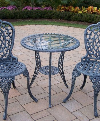 Verdi Gray Mississippi Bistro Set