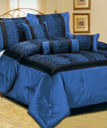 Blue Luxury Comforter Set