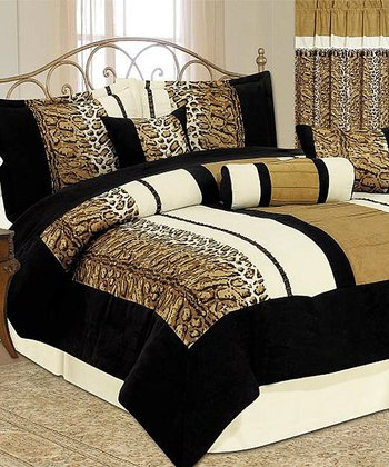 Animal Print Luxury Comforter Set