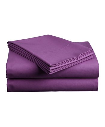Dark Purple Sheet Set