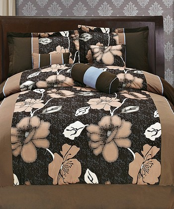 Coffee Luxury Comforter Set