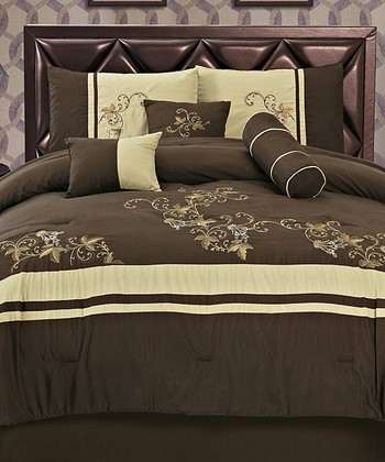 Brown Luxury Comforter Set
