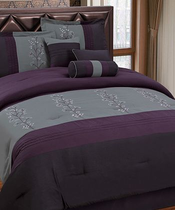 Purple Luxury Comforter Set
