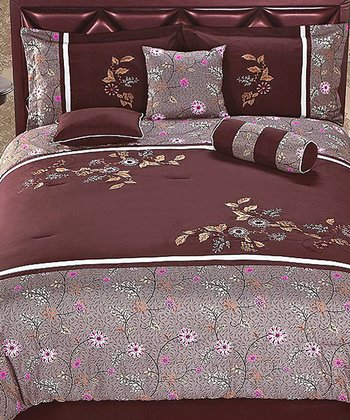 Crimson Luxury Comforter Set
