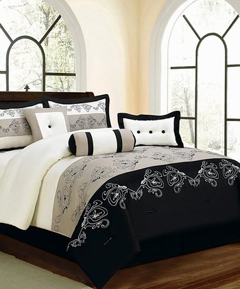 Black & White Luxury Comforter Set
