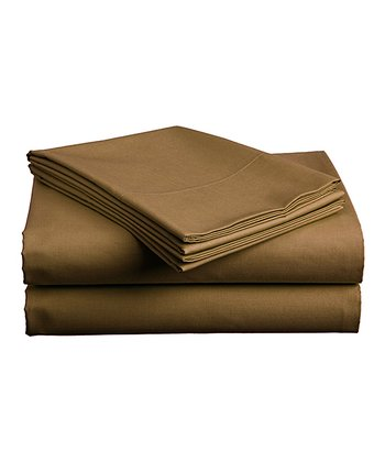 Brown Sheet Set