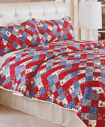 Red Luxury Comforter Set