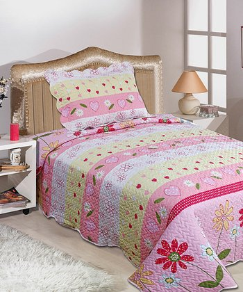 Pink Luxury Comforter Set