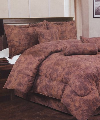 Rust Luxury Comforter Set