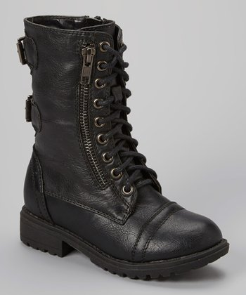 Black Chase Combat Boot