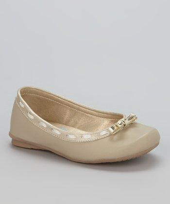 Little Dominique Beige Ballet Flat