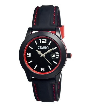 Black & Red Pop Watch
