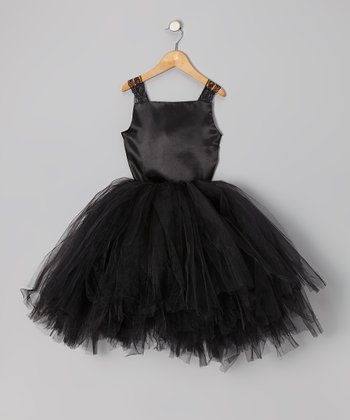 Black Top & Tutu - Infant, Toddler & Girls