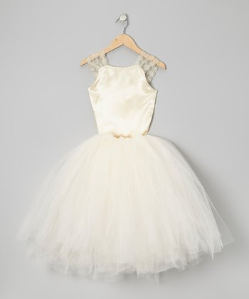 Gold Top & Tutu - Infant, Toddler & Girls