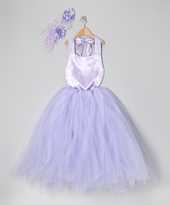 Lavender Tutu Set - Infant, Toddler & Girls