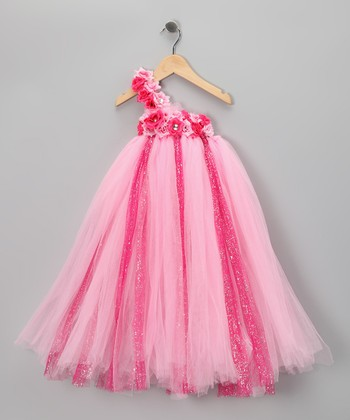 Pink in Bloom Tutu Dress - Infant, Toddler & Girls