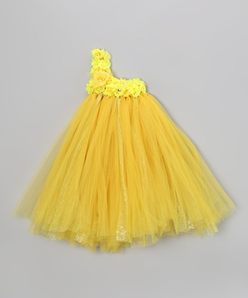 Sunshine Blossom Tutu Dress - Infant, Toddler & Girls
