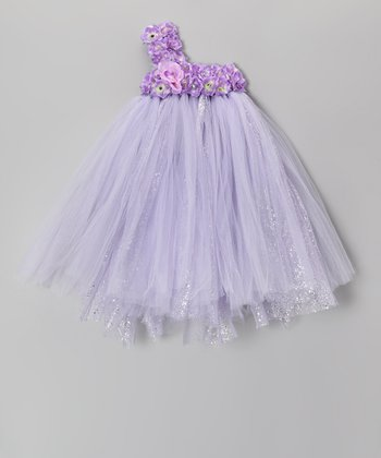 Lavender Blossom Tutu Dress - Infant, Toddler & Girls