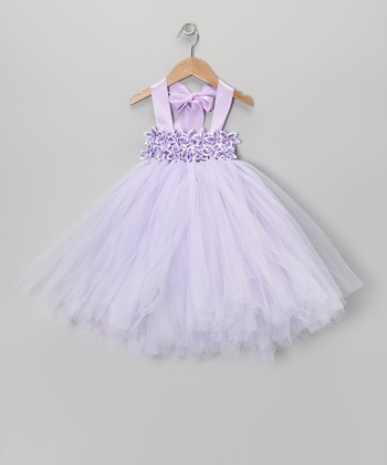 Lavender Star Flower Tutu Dress - Infant, Toddler & Girls