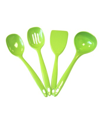 Lime 4-Piece Utensil Set
