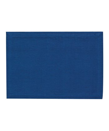 Blue Essentials Place Mat - Set of Four