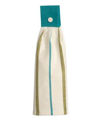 Split P Malachite Stripe Hand Towel - Set of Two