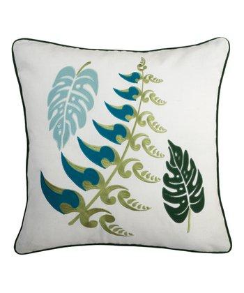 Split P Malachite Garden Pillow
