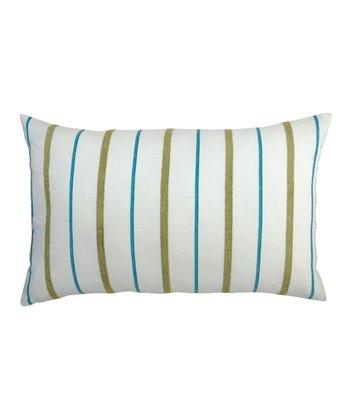 Split P Malachite Garden Stripe Pillow