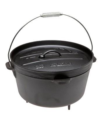 12-Qt. Cast Iron Dutch Oven
