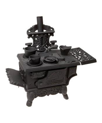 Old Mountain Cast Iron Mini Wood Stove Set