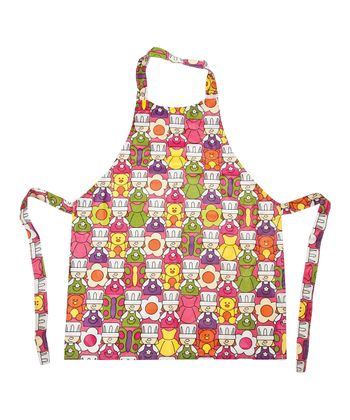 Pink L'il Kitch Cook's Look Apron