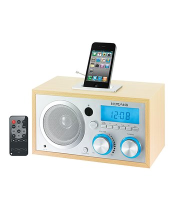 iCraig Digital FM Radio Alarm Clock Radio
