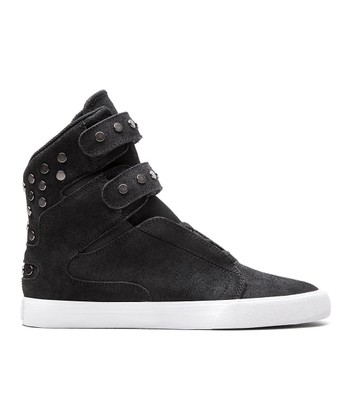 Black & White Society Hi-Top - Women
