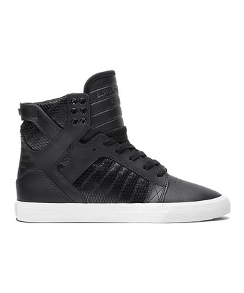 Black & White Skytop Hi-Top - Women