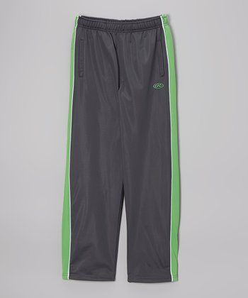 Pavement Gray & Green Track Pants