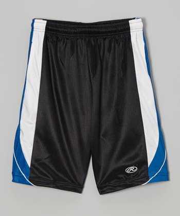 True Black & Blue Shorts