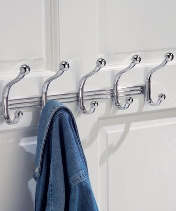 York Wall Mount Five-Hook Rack