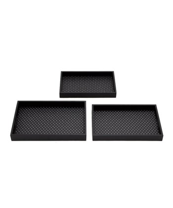 Vinyl Serving Tray Set