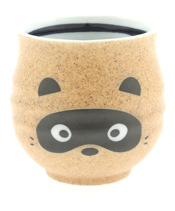 Brown Badger Teacup
