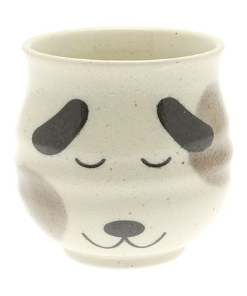 Tan Spot Dog Teacup