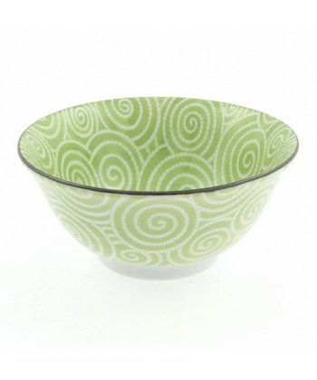 Wasabi Cloud Swirls Medium Bowl
