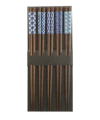 Blue Designs Chopsticks Set