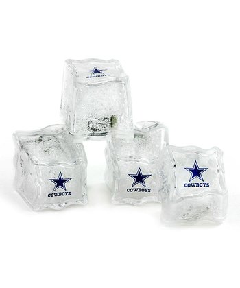 Dallas Cowboys Light-Up Ice Cube - Set of Four