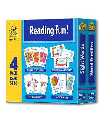 Reading Fun! Card Set