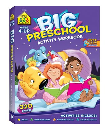 Preschool Big Activity Workbook